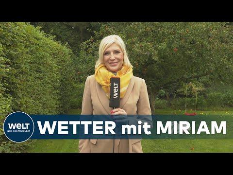 WELT WETTER: Durchwachsenes Herbstwetter in Deutschland