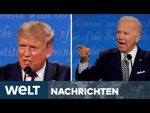 US-WAHL 2020 LIVE: Hochspannung - Das zweite TV-Duell zwischen Biden und Trump in Nashville