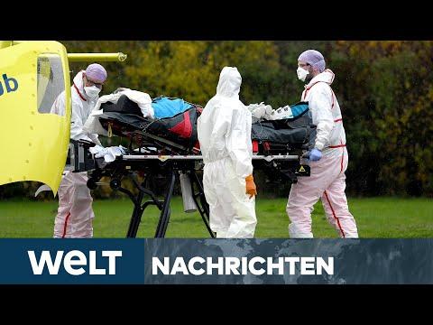 WELT NEWS IM STREAM: CORONA-Risikogebiet - Deutschland an der Belastungsgrenze