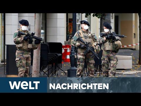 FRANKREICH GESCHOCKT: Höchste Terrorwarnstufe nach tödlichem Messerangriff in Nizza