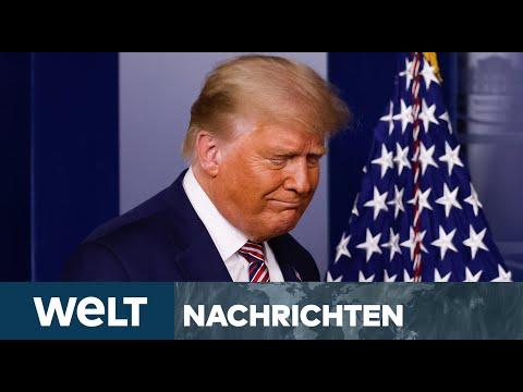 WUT IM WEIßEN HAUS: Trump sieht sich umzingelt von Verschwörung, Wahlbetrug und Korruption