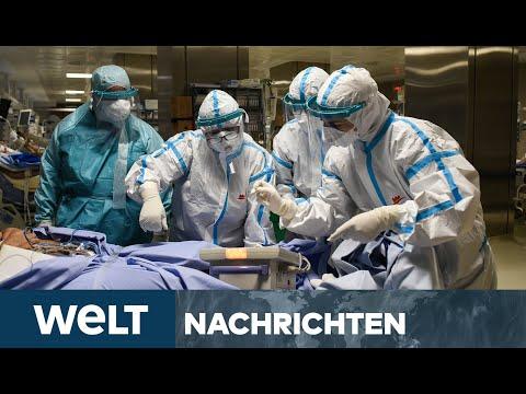 EUROPA IM CORONA-WÜRGEGRIFF: Fast so viele Infizierte wie in den USA - Krankenhäuser unter Druck