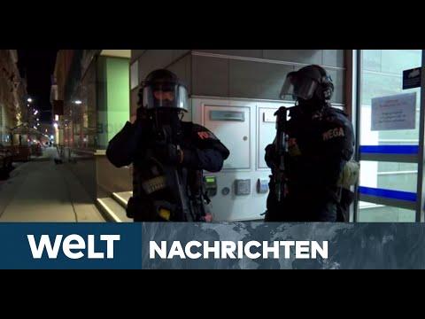 TERROR IN ÖSTERREICH: Nach wilder Schießerei - Briefing von Österreichs Innenminister Nehammer