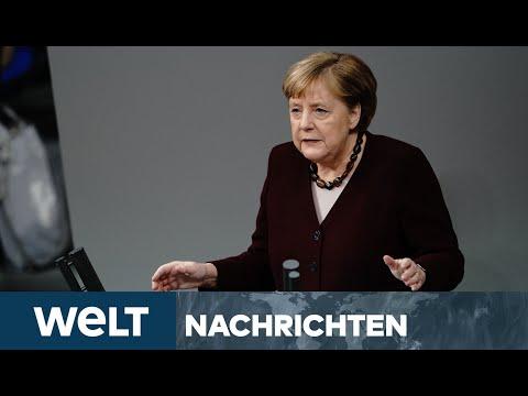 CORONA-PANDEMIE: Merkel beschwört Solidarität - Feiertage werden eine wirkliche Herausforderung