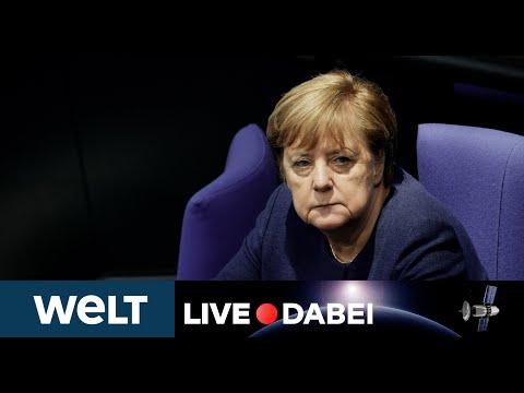 LIVE DABEI: Abrechnung mit Kanzlerin Merkels Corona-Politik - Generaldebatte im Bundestag