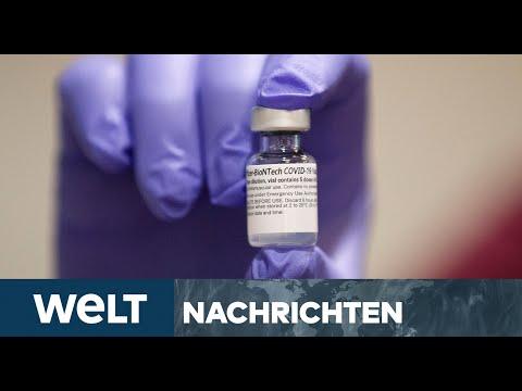 WELT NEWSSTREAM: Vorbereitung auf Corona-Impfung läuft auf Hochtouren