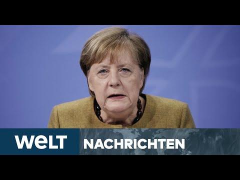 WELT NEWSSTREAM: Angst vor CORONA-Mutation - Merkel denkt an harten Lockdown bis Ostern