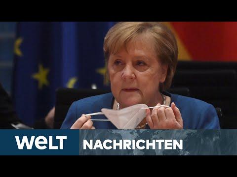 WELT NEWSSTREAM: Nackte Angst vor der Corona-Mutante - plant Kanzlerin Merkel den MEGA-LOCKDOWN?