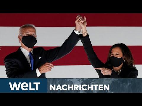 AMTSEINFÜHRUNG: US-Präsident Joe Biden und Vizepräsidentin Kamala Harris werden am Capitol vereidigt