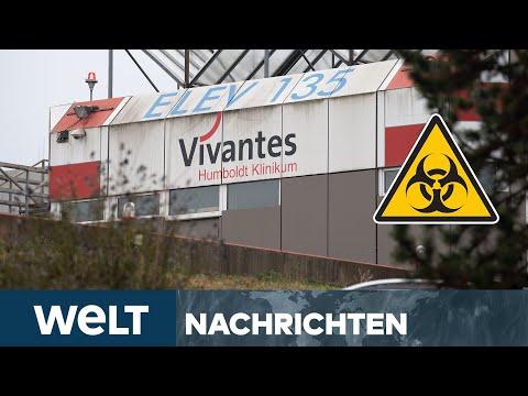 WELT NEWSSTREAM:  B.1.1.7. - Berliner Klinik wegen CORONA-Mutant unter Quarantäne
