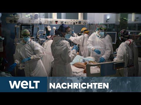 WELT NEWSSTREAM: Corona-Mutation in Deutschland - Lockdown-Lockerungen rücken wohl in weite Ferne
