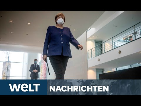 WELT NEWSSTREAM: Wider der Trägheit - Merkel genervt vom mangelnden Tempo im Kampf gegen Corona