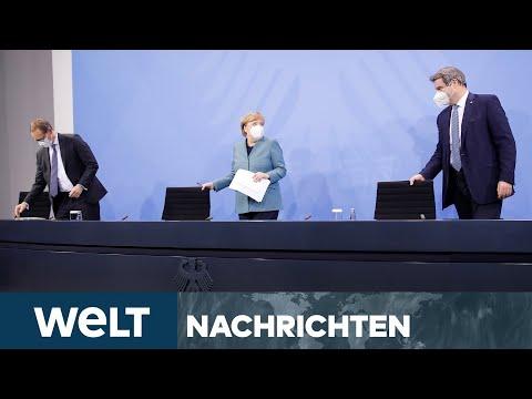 WELT NEWSSTREAM: Bund-Länder-Coronagipfel - Lockdownverlängerung bis 14. März erwartet