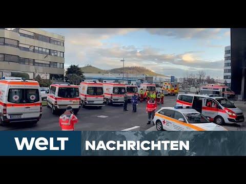 WELT NEWSSTREAM: Anschlag auf LIDL-Zentrale - Bombenexplosion verletzt drei Menschen
