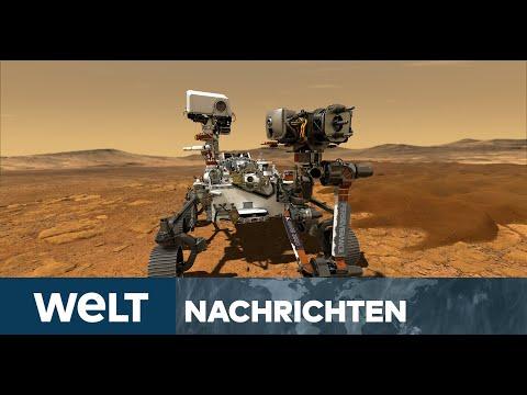 WELT SONDERSENDUNG: Faszination Mars - NASA landet seinen neuen Rover-Roboter auf dem Roten Planeten