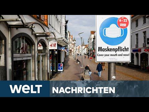 FLENSBURG MUTATIONS-HOTSPOT: Deutschland pendelt zwischen Corona-Ausgangssperre und Lockerungen