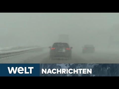 WELT NEWSSTREAM: Schneewalze - So bereitet sich Norddeutschland auf den Blizzard vor