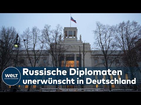 RUSSISCHE DIPLOMATEN: Schweden und Deutschland werfen Diplomaten aus dem Land