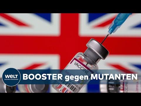 DRITTE CORONA-IMPFUNG: Im Herbst - Briten sollen Booster-Impfungen gegen Mutationen bekommen