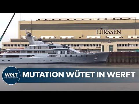 BRITISCHE MUTATION IN BREMEN: Großflächiger Corona-Ausbruch in Lürssen-Werft