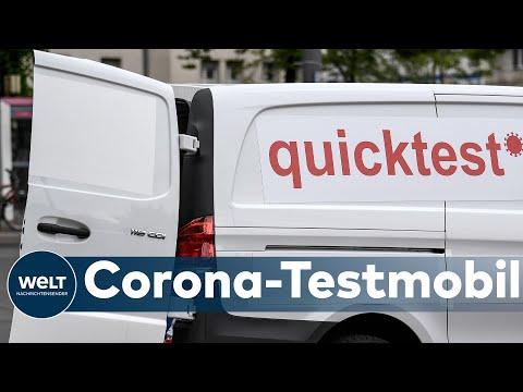 TESTEN AUF RÄDERN: Apotheker bringt mobiles Corona-Testzentrum ins Rollen