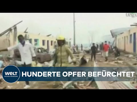 AFRIKA: Mehrere Explosionen erschüttern Äquatorialguinea