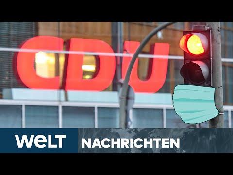 MASKENSKANDAL erschüttert CDU - Austritt & Rücktritt nach Corona-Masken-Geschäften | WELT Newsstream