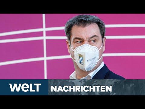 SÖDER SETZT ZUM SPRUNG NACH BERLIN AN: Offener Machtkampf um Kanzlerkandidatur | WELT Newsstream