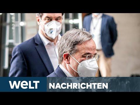 NACKENSCHLAG FÜR SÖDER: CDU-Präsidium für Armin Laschet als Kanzlerkandidat | WELT Newsstream