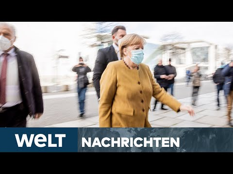 AUSGANGSSPERRE: Merkels Corona-Hammer wirft rechtliche Fragen auf | WELT Newsstream