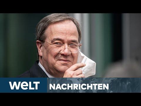 SÖDER ABGEKÄMPFT: Stolz wie Bolle - Laschet kommt gestärkt aus Machtkampf I WELT Newsstream