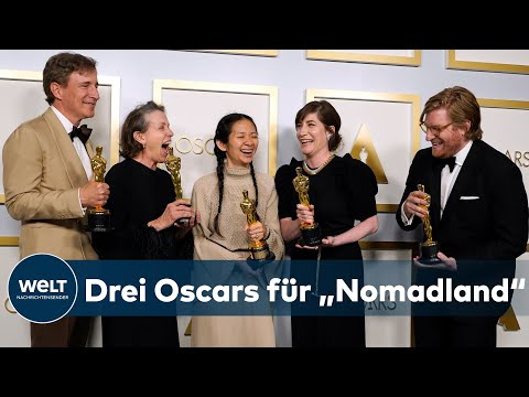 OSCAR-VERLEIHUNG: Chloé Zhao gewinnt als zweite Frau überhaupt einen Regie-Oscar I WELT News