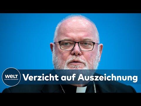 NACH MASSIVER KRITIK: Kardinal Reinhard  Marx verzichtet auf das Bundesverdienstkreuz I WELT News
