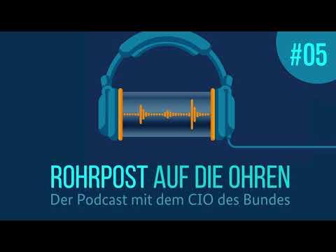 Rohrpost #5: Digitale Souveränität bei der IT- und Cybersicherheit, zu Gast: Wilfried Karl von ZITiS