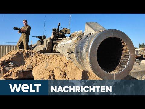 NACH TERROR-RAKETEN AUS GAZA: Israel attackiert das Tunnelsystem der Hamas   WELT Newsstream
