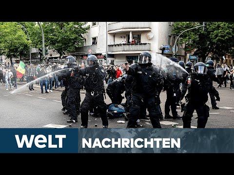 GEWALT IN NAHOST: Pro-palästinensische Demonstration in Berlin eskaliert | WELT Newsstream