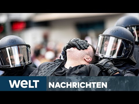 GEWALT IN NAHOST: Hass-Demos in Großstädten eskalieren - Attacke auf Tel Aviv | WELT Newsstream
