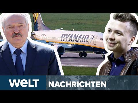 """BELARUS: Flugzeugentführung! """"Staatlicher Terrorakt"""" - Aktivist bangt um Leben   WELT Newsstream"""