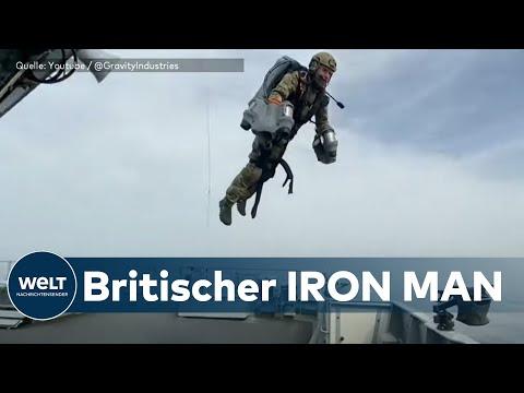Real Life IRON MAN: Britische Marine testet Jet-Suit