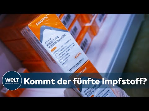 SINOVAC-VAKZIN: EU-Arzneimittelbehörde startet Prüfverfahren für chinesischen Impfstoff