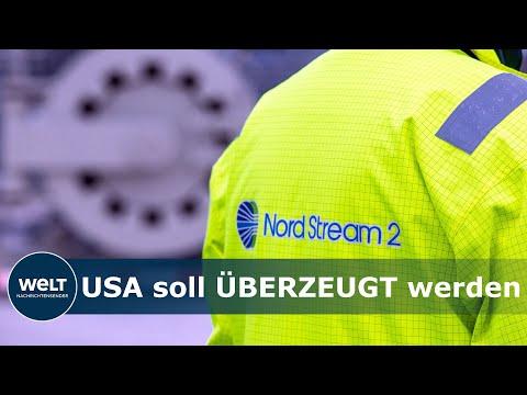 STREIT UM NORDSTREAM 2: Deutsche Verhandlungsdelegation reist in die USA, um für Pipeline zu werben!
