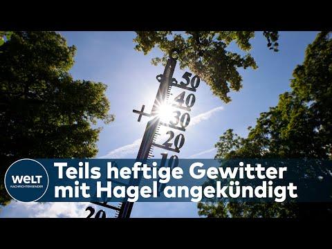 WETTER: Nach der Hitzewelle - HIER drohen nun Gewitter und sogar Hagel
