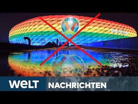 REGENBOGEN-ARENA als Zeichen für TOLERANZ? UEFA erteilt ABSAGE! | WELT Newsstream