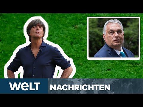 EM 2021: Deutschland gegen Ungarn im Fußball-Fieber! Orban sagt München-Reise ab! | WELT Newsstream