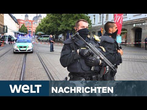 TATMOTIV UNKLAR: Trauer und Entsetzen nach Messerattacke in Würzburg | WELT Newsstream