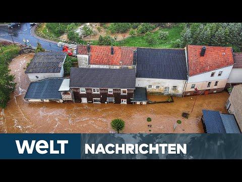 UNWETTER in DEUTSCHLAND: Starkregen, Gewitter - Hier droht jetzt Extremwetter   WELT Newsstream