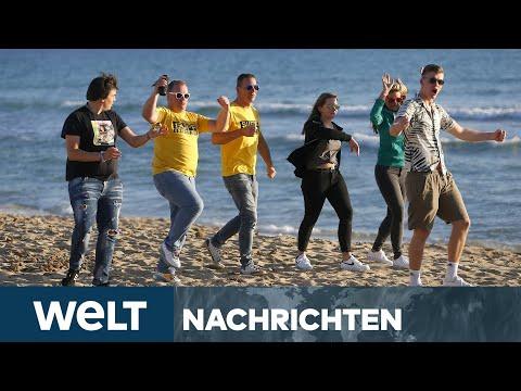 PANDEMIE-PARTY AM STRAND: Corona-Comeback in Europas Urlaubsländern verunsichert | WELT Newsstream