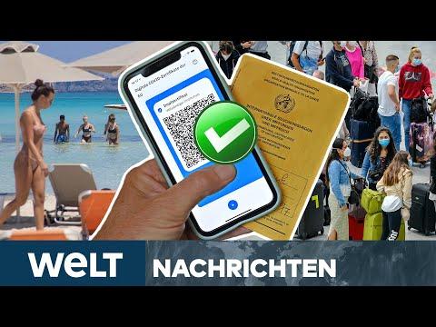 URLAUB NUR FÜR GEIMPFTE? Reisen für Nicht-Geimpfte wird komplizierter! | WELT Newsstream