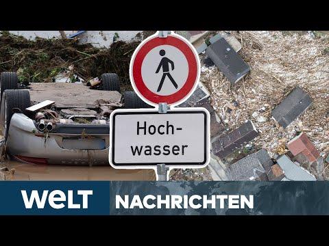 UNWETTER-KATASTROPHE in Deutschland: Mindestens 42 Tote durch Hochwasser | WELT Newsstream