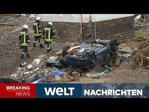 UNWETTER-KATASTROPHE: Jahrhundertflut erschüttert ganz Deutschland | WELT Newsstream